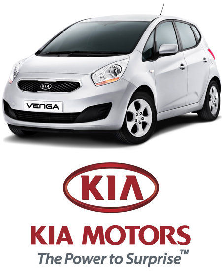 Kia Venga Black. Seven Kia Venga cars to be won