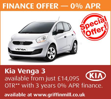 Kia Venga Black. Latest finance deal: Kia Venga
