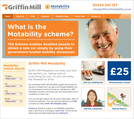 Griffin Mill Motability