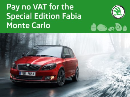 Skoda Fabia Monte Carlo - Easter Treat - PAY NO VAT