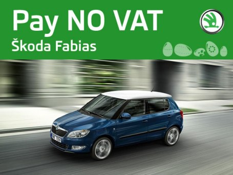Skoda Fabia Hatchback - Easter treat - PAY NO VAT ON SELECTED MODELS