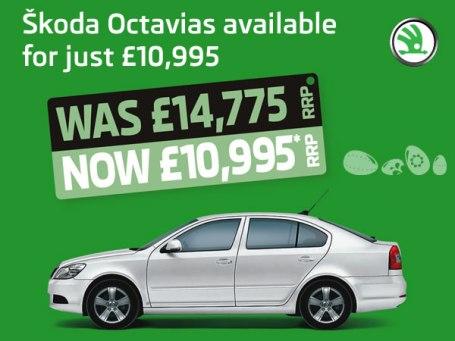Skoda Octavia SE 1.6 MPI 102PS - Easter Treat - FROM £10,995