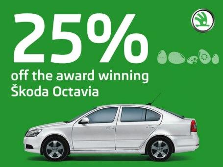 Skoda Octavia Hatchback - Easter Treat - 25% OFF